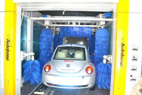 Electric TEPO-AUTO Tunnel Car Wash System 35kw With Powerful Air-Dry Systems
