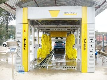 चीन CE ISO9001 swing arm Automatic Car Wash Machine streamline cleaning principle आपूर्तिकर्ता