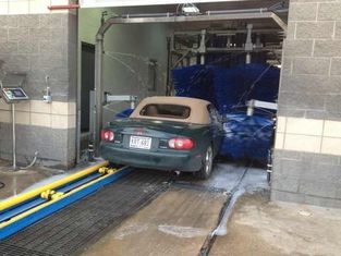 चीन Autobase Tunnel-type Car Washing System Stable Safe With Muting Materials आपूर्तिकर्ता