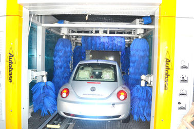 चीन Electric TEPO-AUTO Tunnel Car Wash System 35kw With Powerful Air-Dry Systems आपूर्तिकर्ता