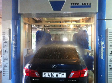 चीन Professional Convenient Car Wash Machine With Washing 60 - 80 Cars Per Hour आपूर्तिकर्ता