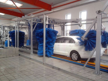 चीन Tunnel Car Wash Systems With Three Color Wax Spraying , Innovation Mode आपूर्तिकर्ता