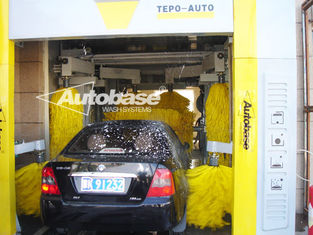 चीन TEPO-AUTO TUNNEL CAR WASH with high speed washing 60-80 cars per hour आपूर्तिकर्ता