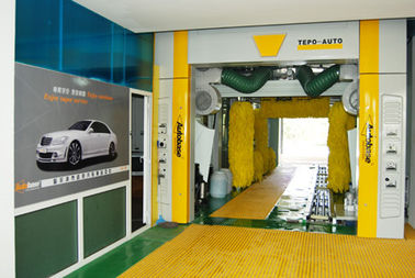 Automatic Car Wash Equipment For Saloon Car / Jeep / Mini Microbus / Taxi And Box Type Vehicle Under 2.1m